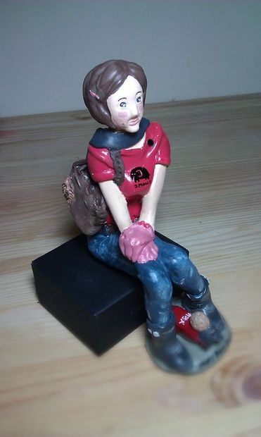 Picture of Clay Doll for Your Love One