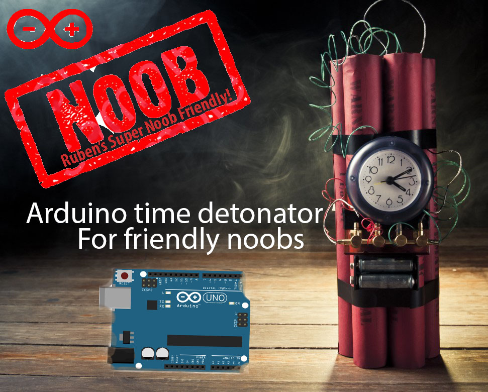 Picture of Arduino Inexpensive High Quality Time / Smartphone Detonator (or Time Controlled Switch): the 2016 Super Noob Friendly Way!