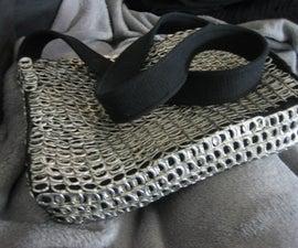 Soda Tab Chainmail Laptop Bag