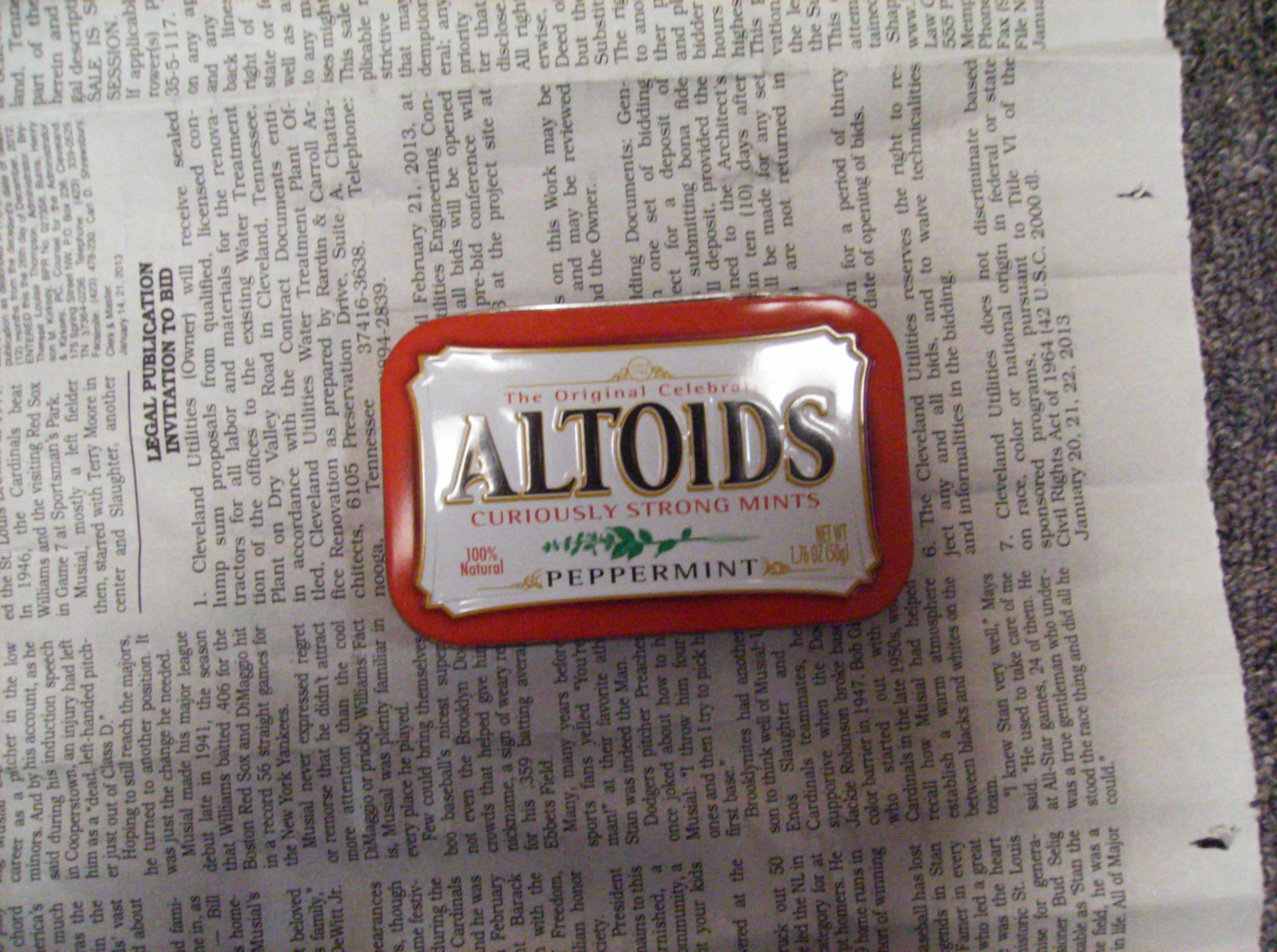 Picture of Altoids Mini Stove