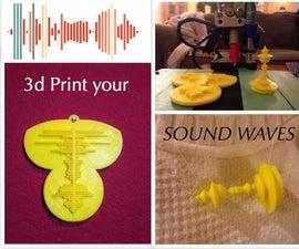 3d Print Your Voice!