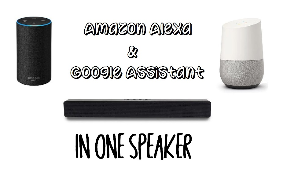 Picture of Smart Speaker With Alexa and Google Assistant