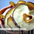 Homemade Apple Chips / Healthy Snack for Kids