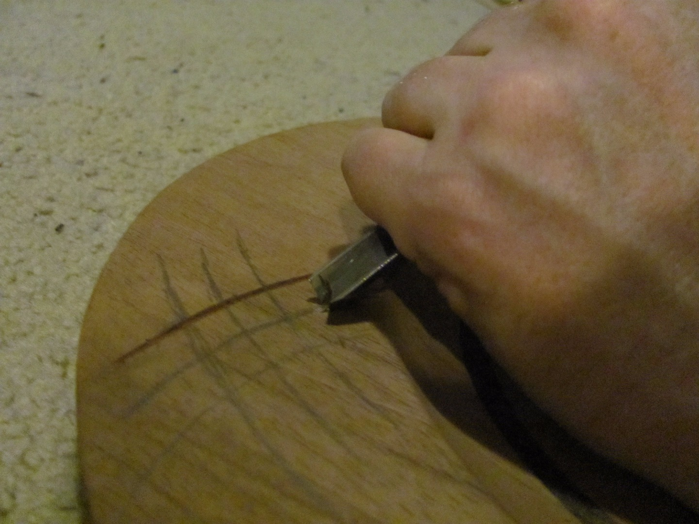 Picture of Carving the Scratches