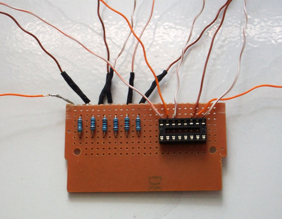 Picture of Complete the Circuit on Perfboard