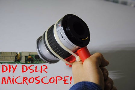 Turn Your Old DSLR Into a Microscope!