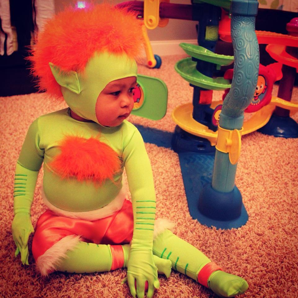 Picture of Baby Blanka From Street Fighter II Costume