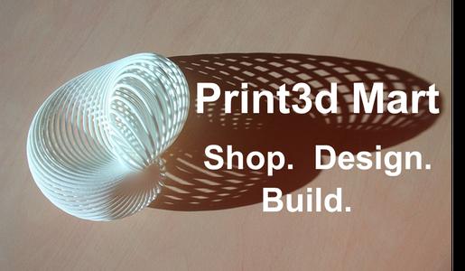 Quick Start Guide: Print3d Mart