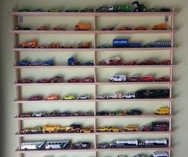 Toy Car Shelf