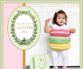Stack of Macarons Costume -- Easy Sewing