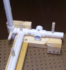 Cement Cross, T1, T2, NAROD Reflector Support Tube
