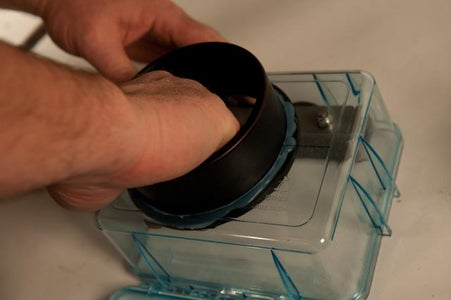 Step Five:  Install the Base of the Lens Housing