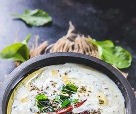 Palak Raita (Spinach Youghurt)