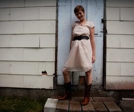 Romantic Lace Dress Tutorial