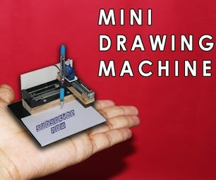 DIY MINI CNC DRAWING MACHINE