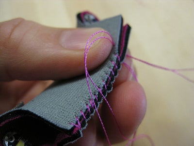 Sewing Neoprene Pouch Together