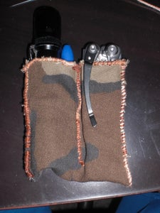 Pocket Torch and Multitool Sheath