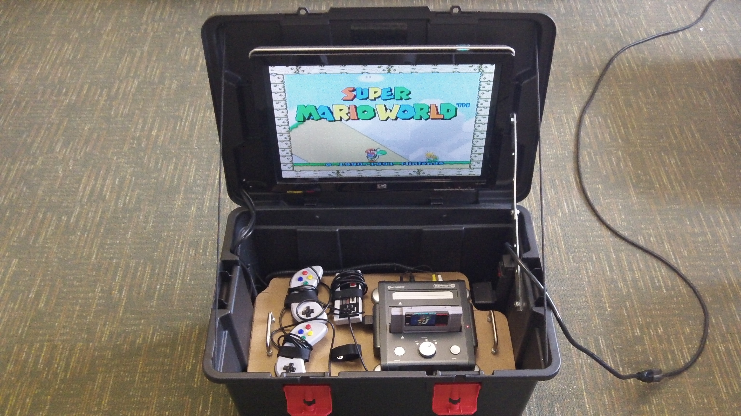 Picture of Portable Game System Box: Built for < $30