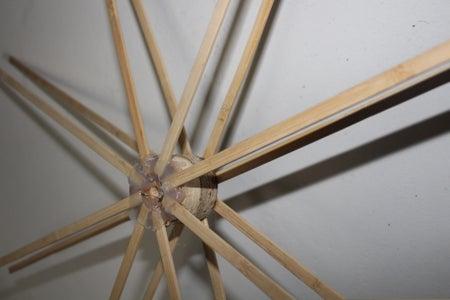 Add the Wooden Sticks