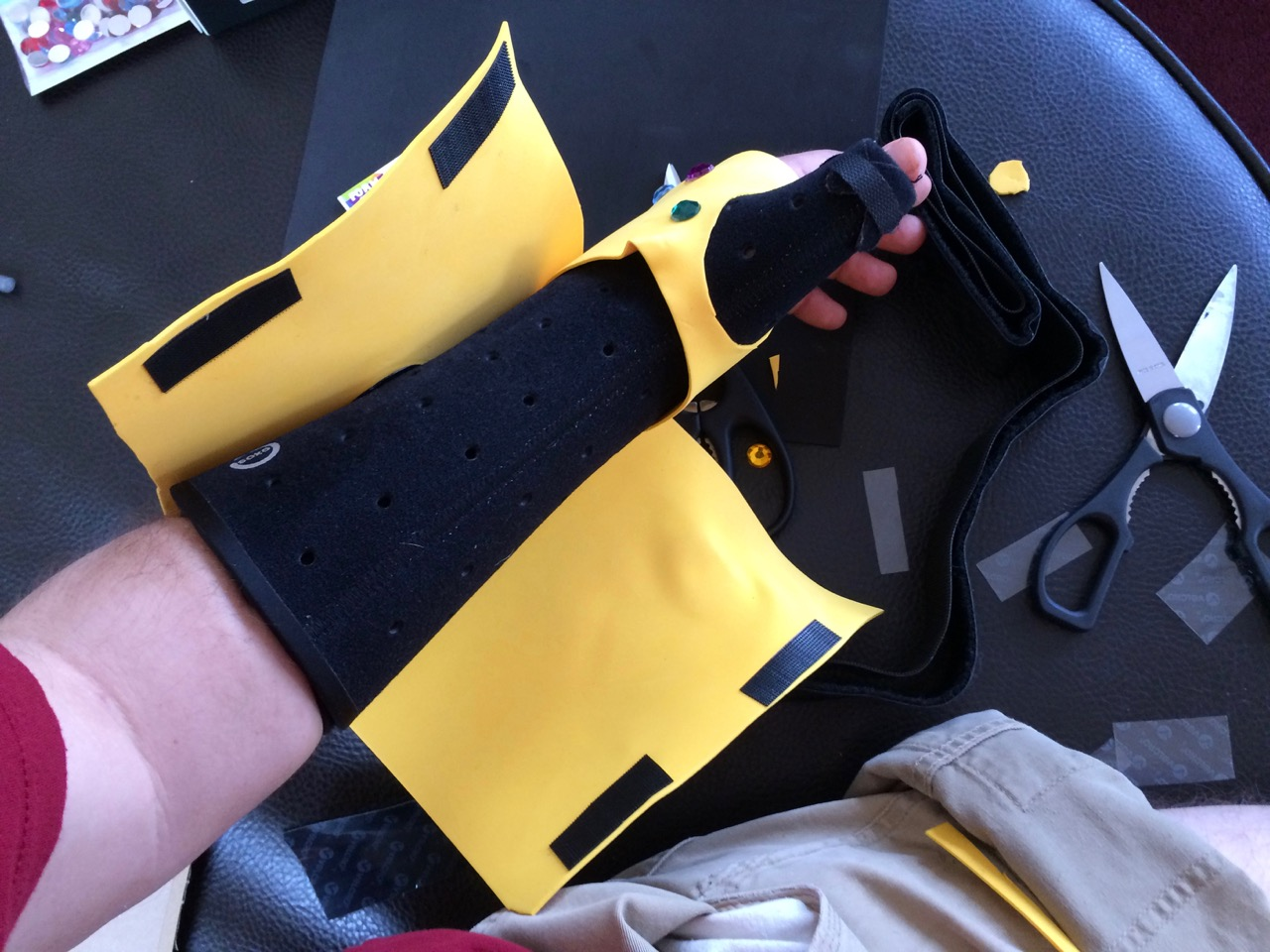 Picture of Cuff and Lower Section