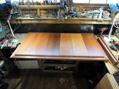 Building the Basic Table-top Outer Frame and Inner Bed
