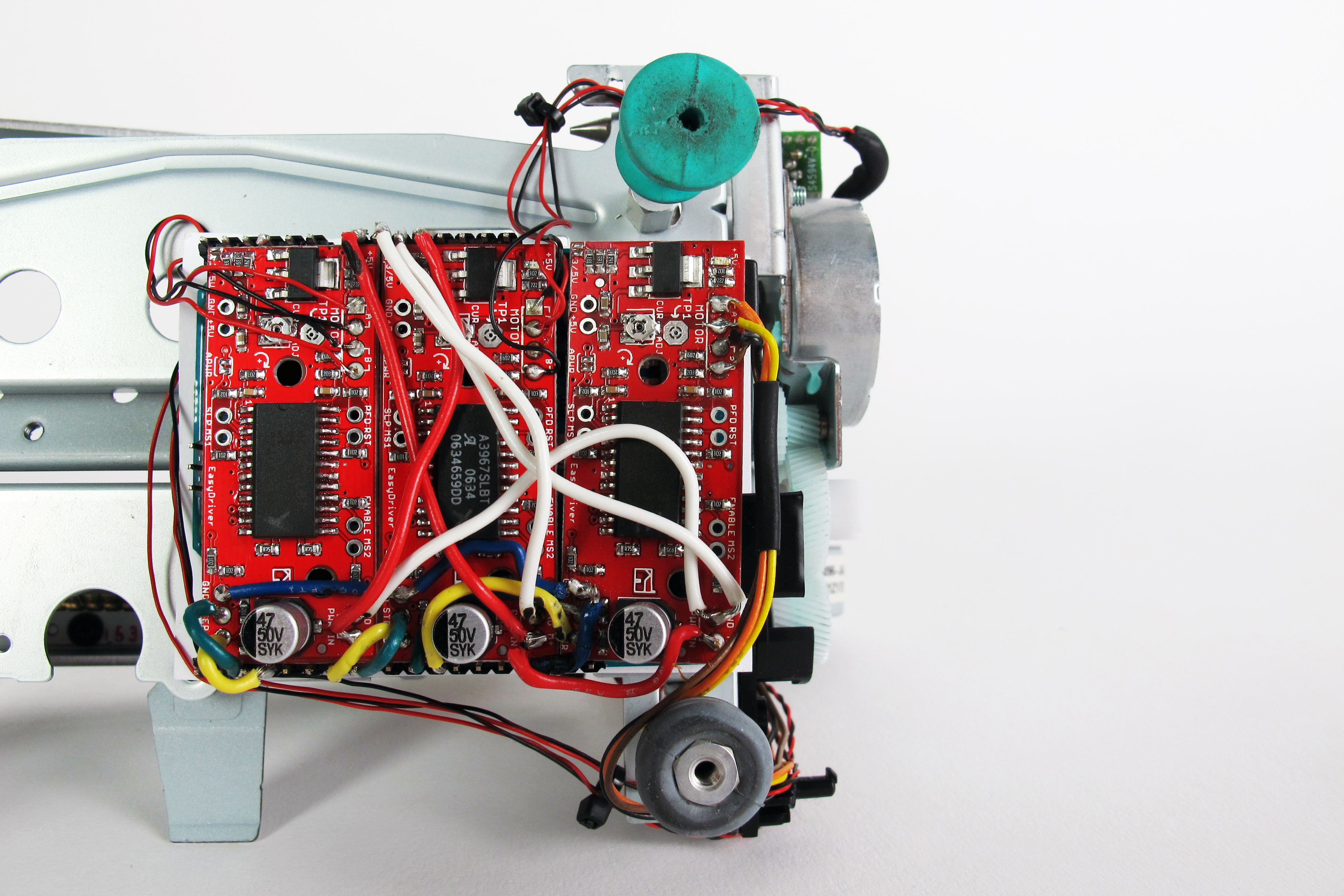 Picture of Hardwiring the Electronics