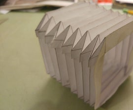 Paper Camera Bellows
