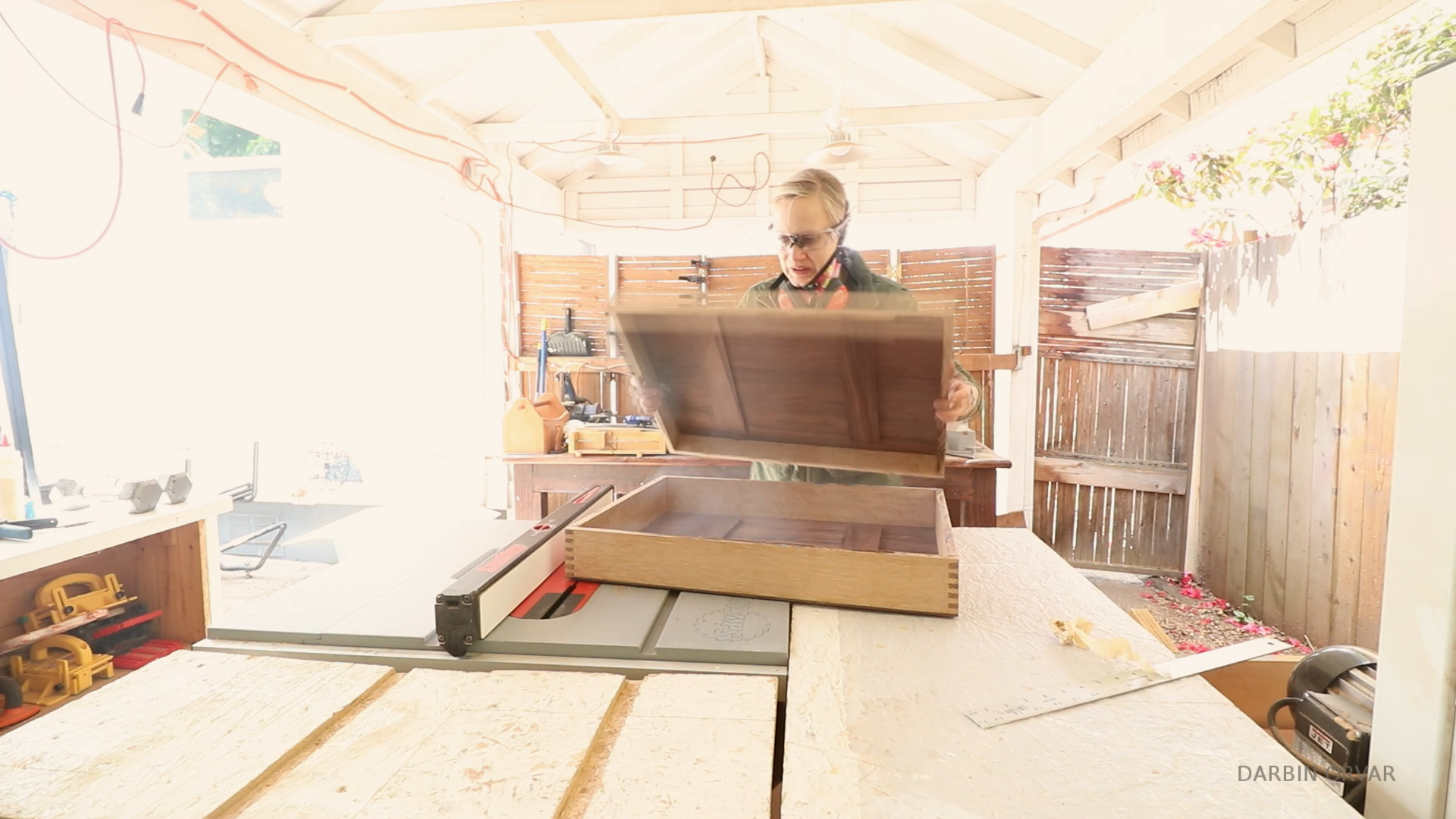 Picture of Tablesaw Cut