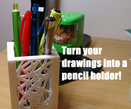 Turn Your Drawings Into a 3D Model!!