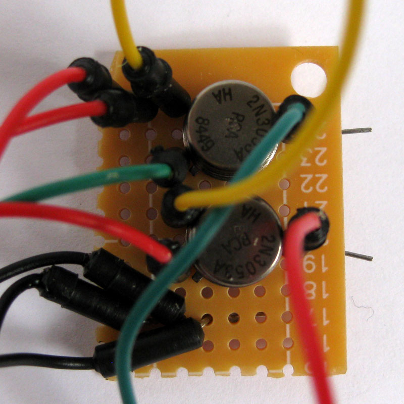 Picture of Connecting the IOIO to the Breadboard