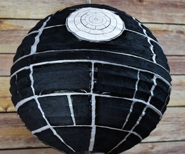 Death Star DIY Paper Lantern