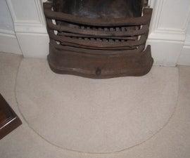 Make a Rug From Leftover Carpet