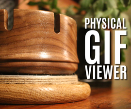 Physical GIF Viewer (Zoetrope)