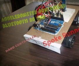 Accelerometer Bluetooth Controlled Mini Car