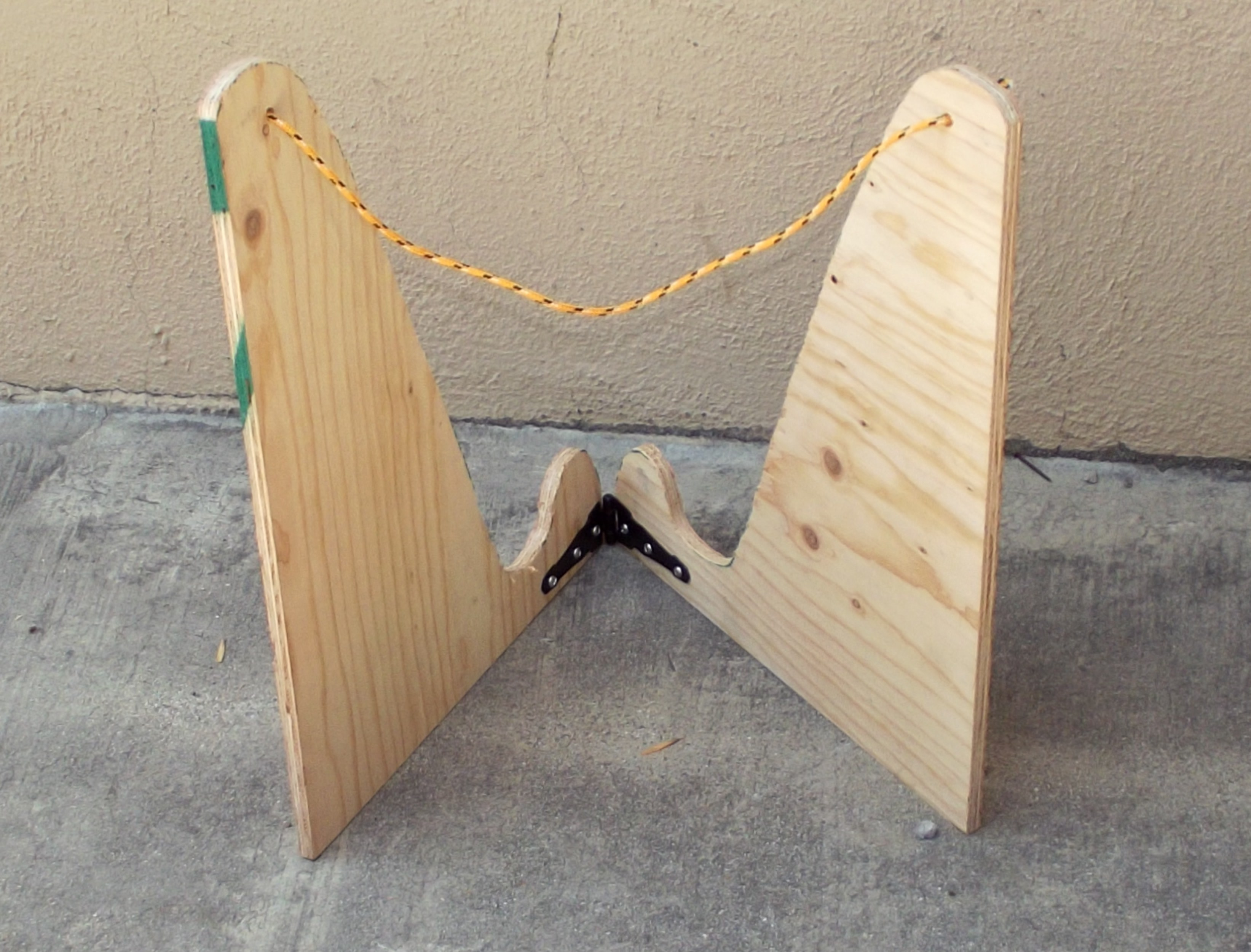 Picture of Hinge & Rope Assembly