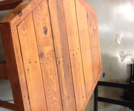 Wooden Pallet Coffeetable