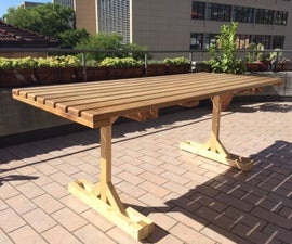 Recycled Outdoor Table
