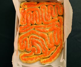 puff pastry intestines