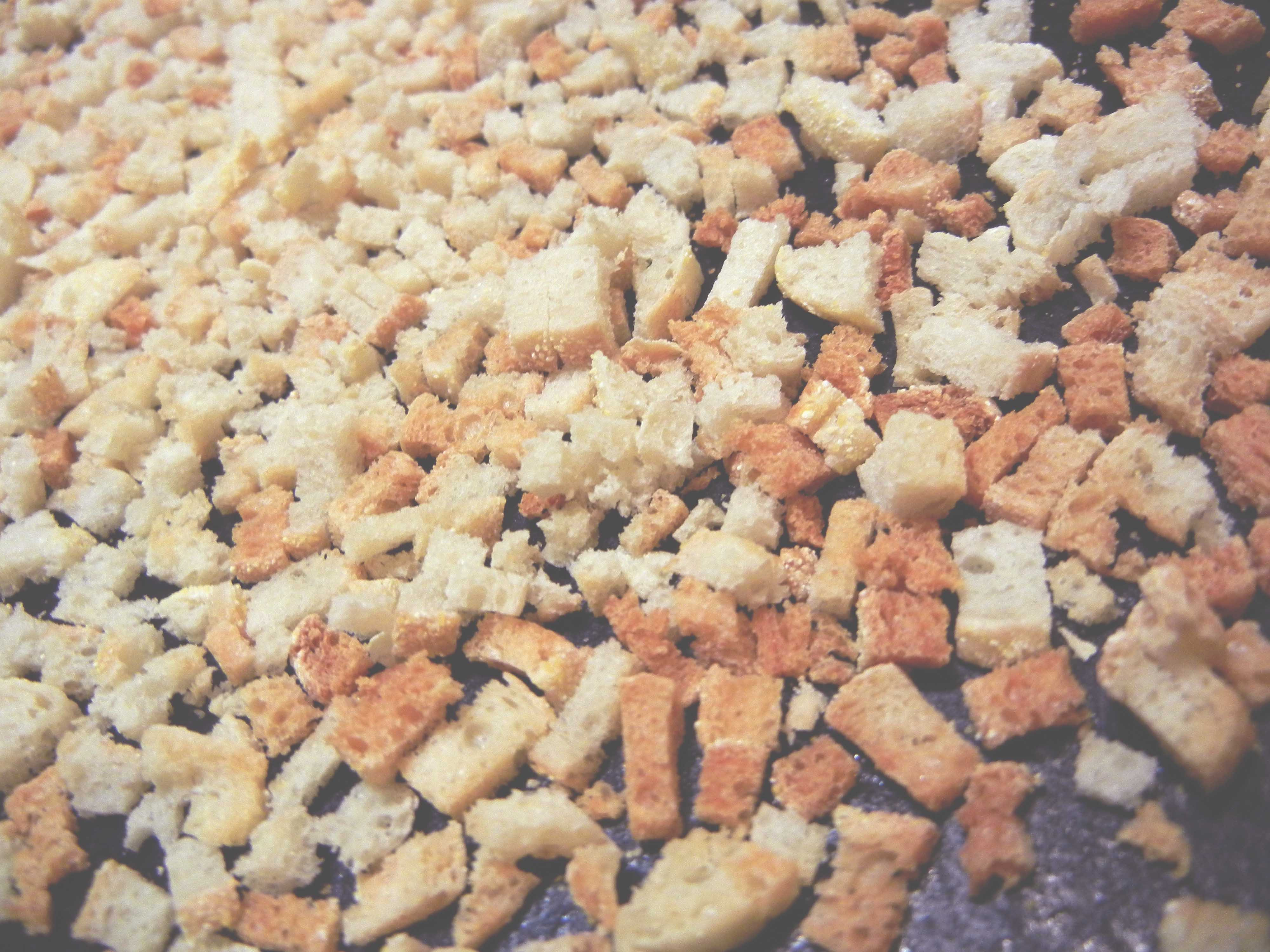 Picture of English Muffin Croutons