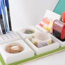3D-printed desk set