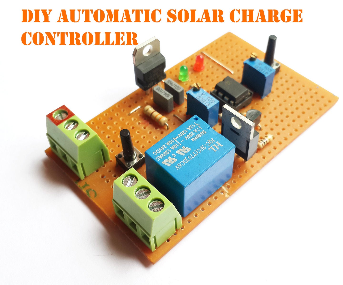 Diy Automatic Solar Charge Controller 7 Steps With Pictures Changeover Switch Circuit Using 555 Timer