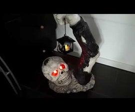 Pimp Zombie With Glowing Eyes