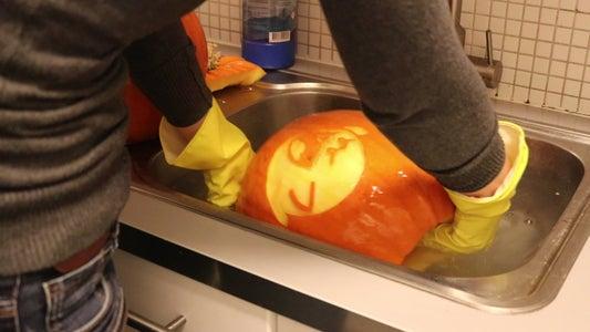 Disinfect Your Pumpkin