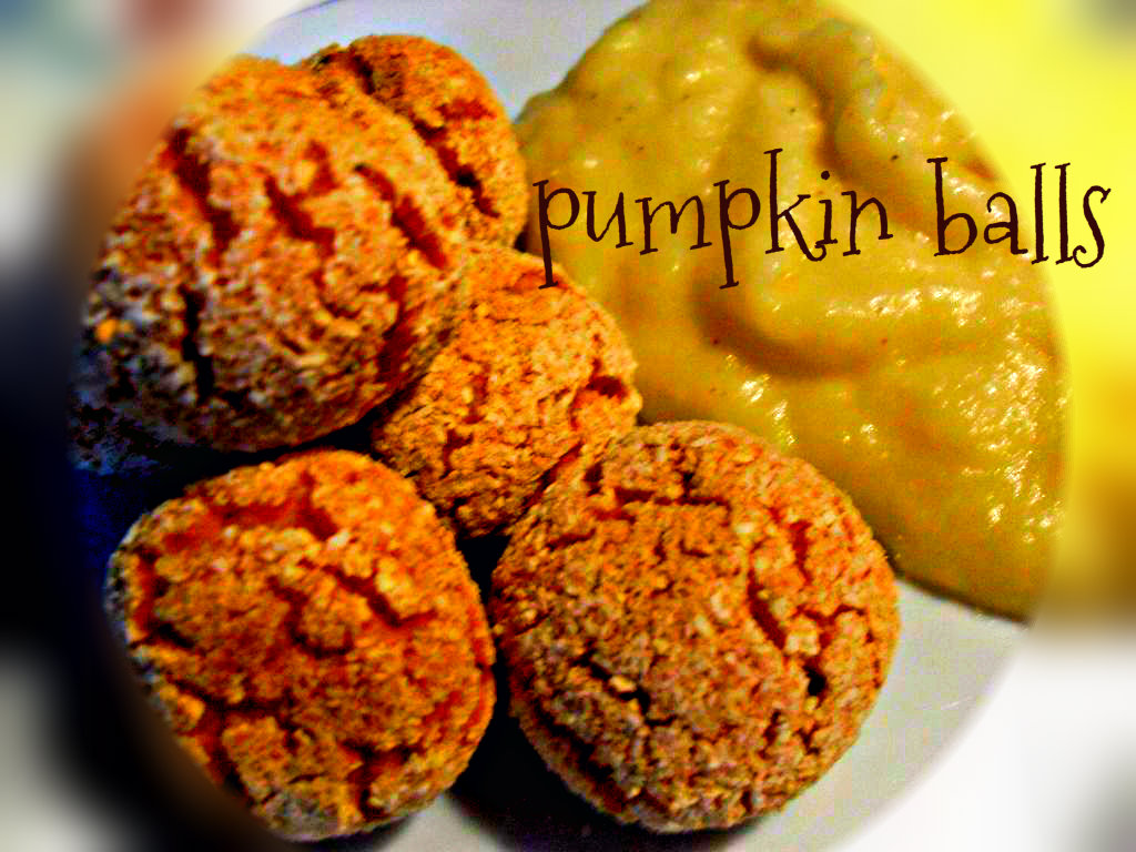 Picture of Easy and Quick Meal: Pumpkin Balls With Just 3 Ingredients