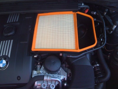Remove Stock Air Filter