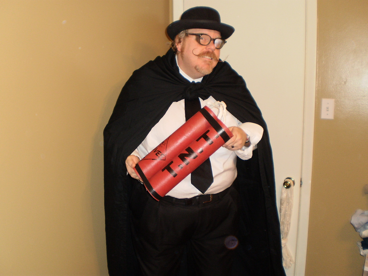 Picture of Become a Silent Movie Villain in 4 Easy Steps!