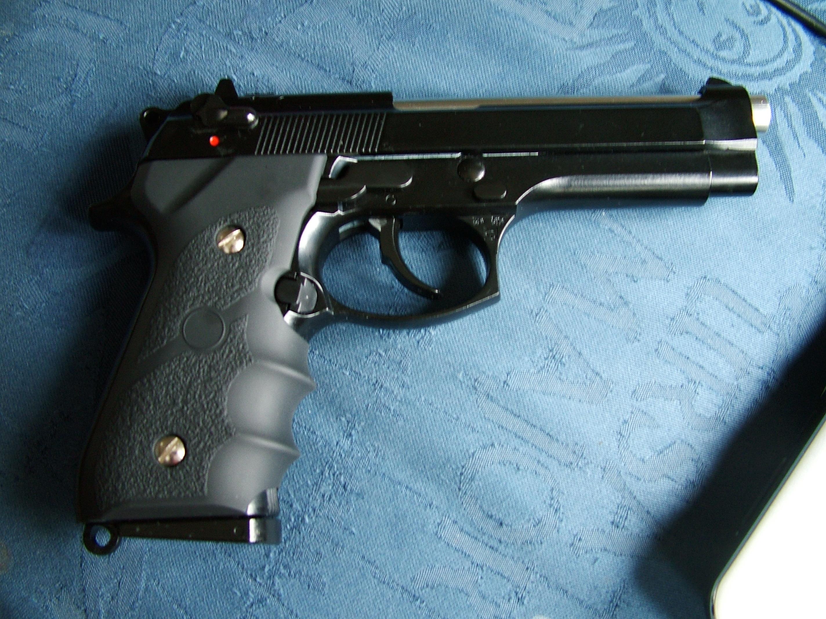 Picture of Basic Gas Blow Back Airsoft Pistol Maintenance: FIeld Stripping and Lubricating.