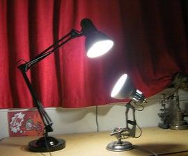 DIY PIXAR: Luxo Jr. Lamp