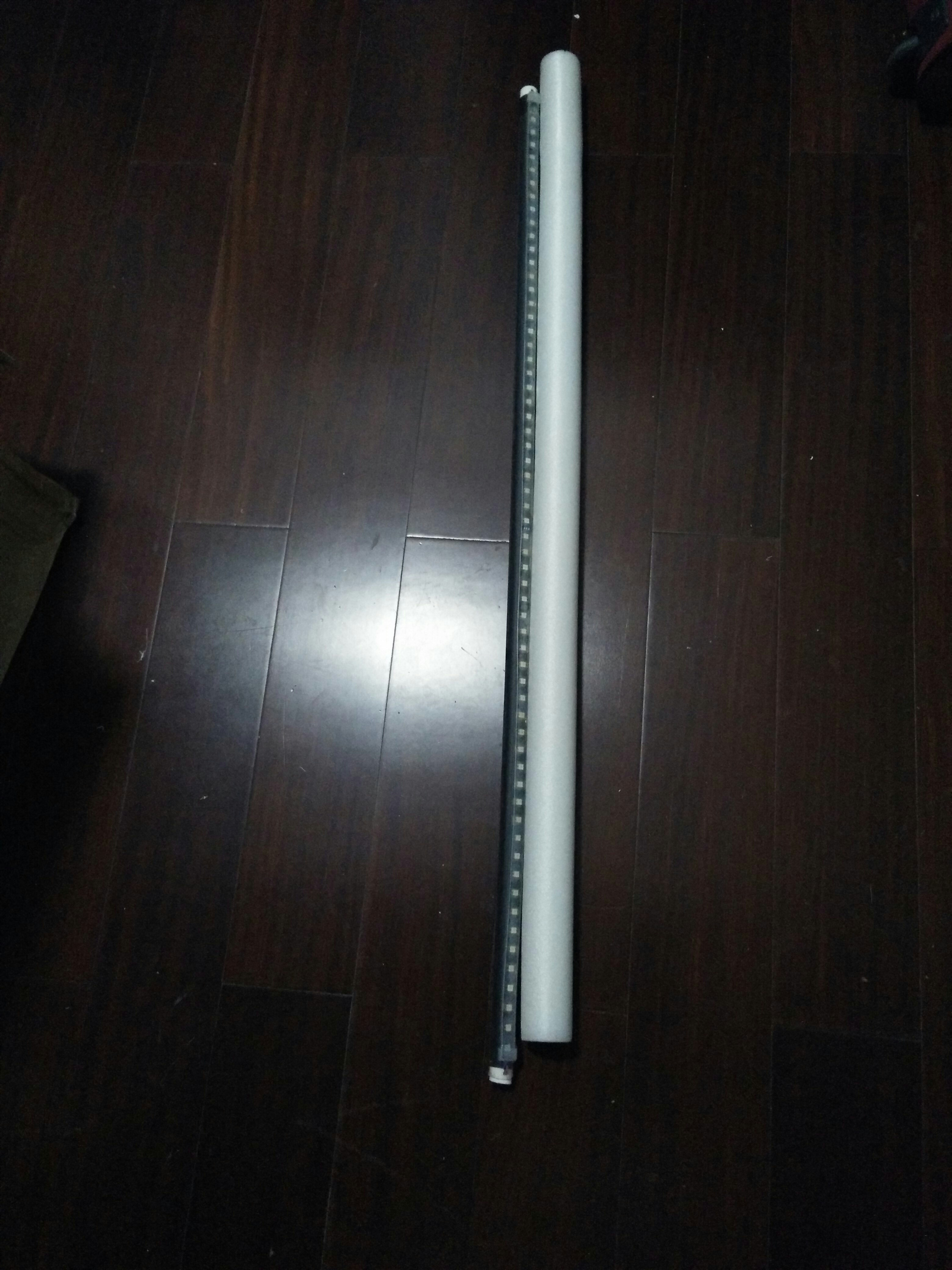 Picture of Assemble the LED Light Painting Stick