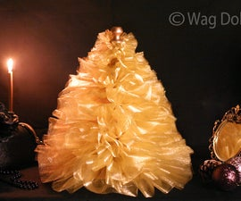 Boudoir Tulle Christmas Tree